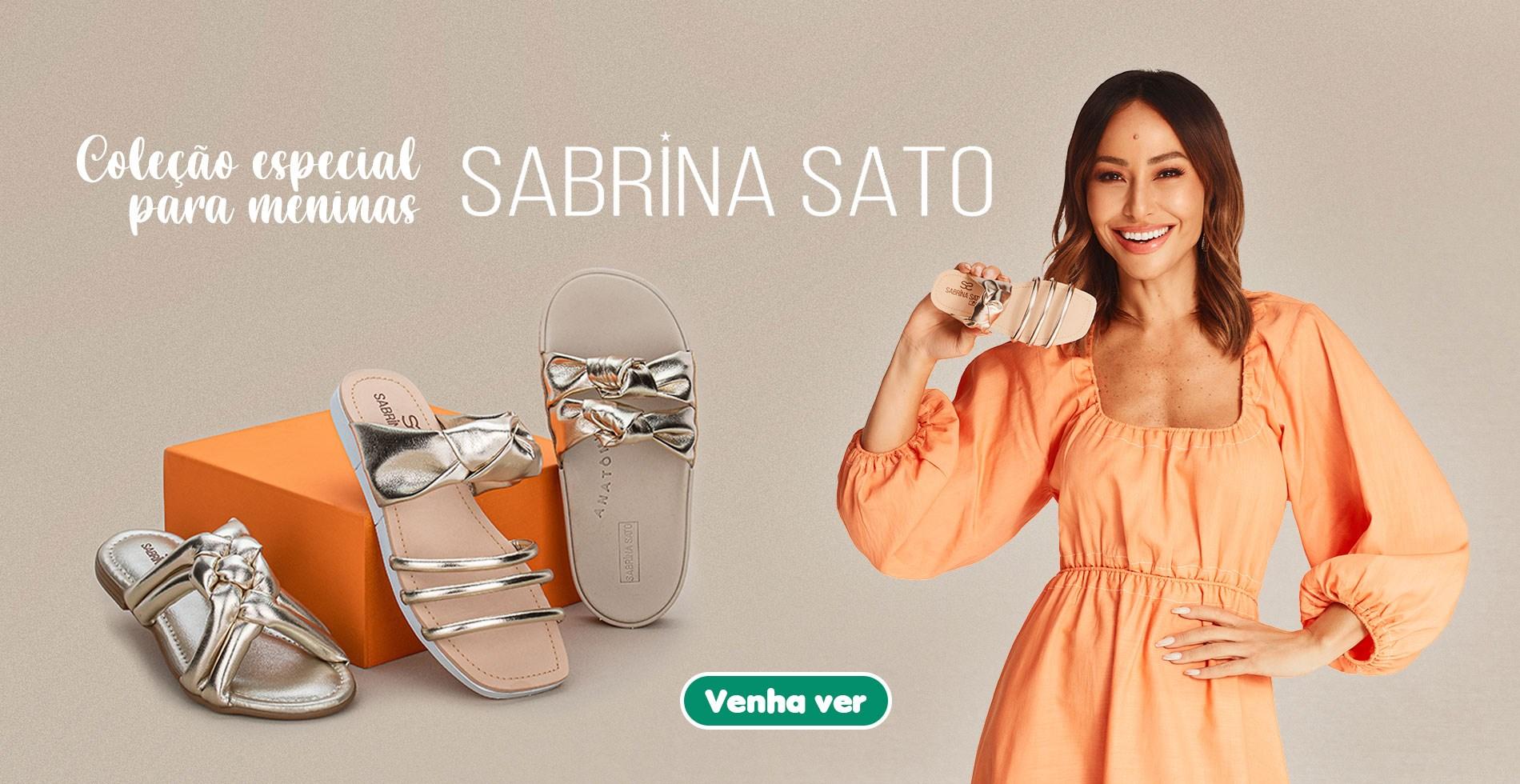 Coleção Especial para Meninas Sabrina Sato