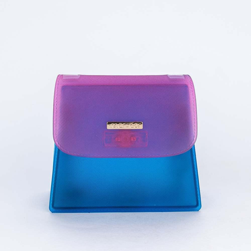 Bolsa de menina Mar e Cor com Alça de Corrente Pink e Azul
