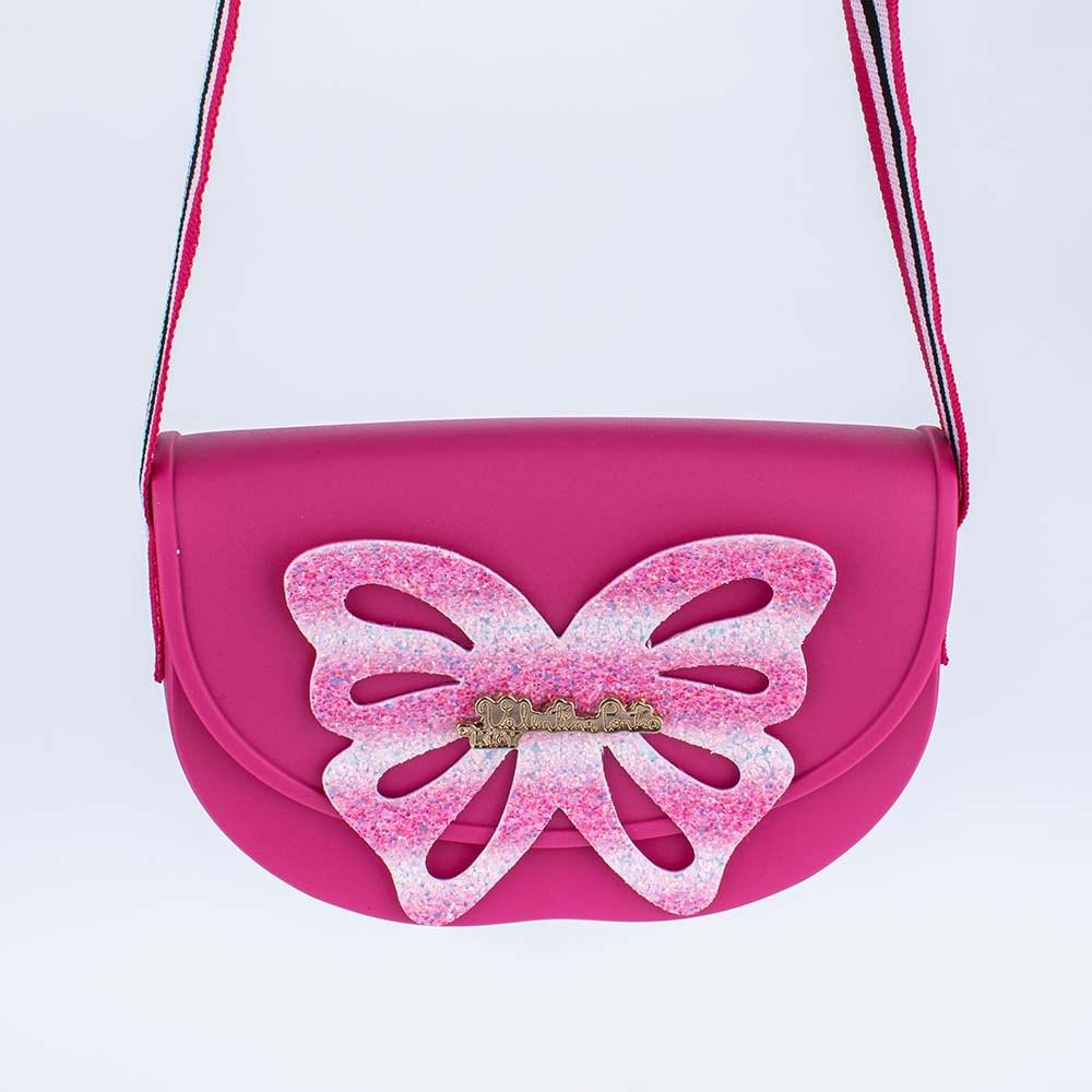 Bolsa Valentina Pontes by Kidy com Asas de Glitter Pink