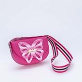Produto Bolsa Valentina Pontes by Kidy com Asas de Glitter Pink