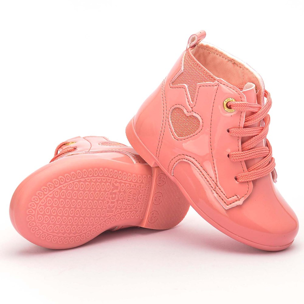 Bota Infantil Feminina Soft Rosê