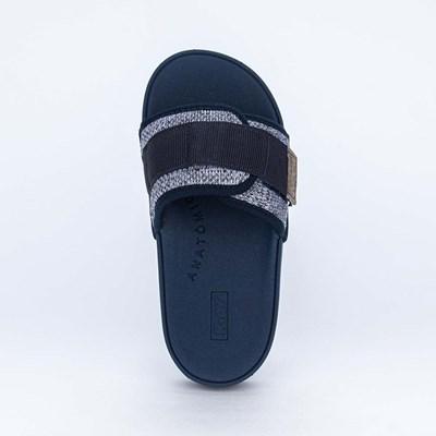 Chinelo Slide Infantil para Meninos Micro PVC Marinho