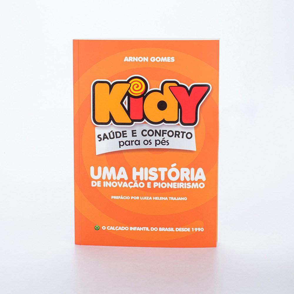 Livro Kidy - Uma história de inovação e pioneirismo