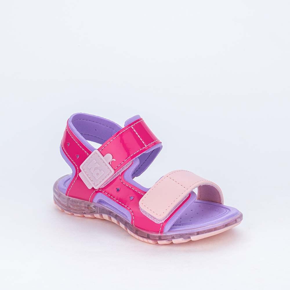 Papete de Led Infantil Feminina Kidy Light Rosa e Azul Tiffany