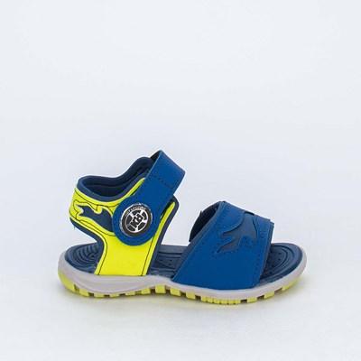 Papete Infantil Kidy Azul Amarelo Neon com Brinquedo Looping