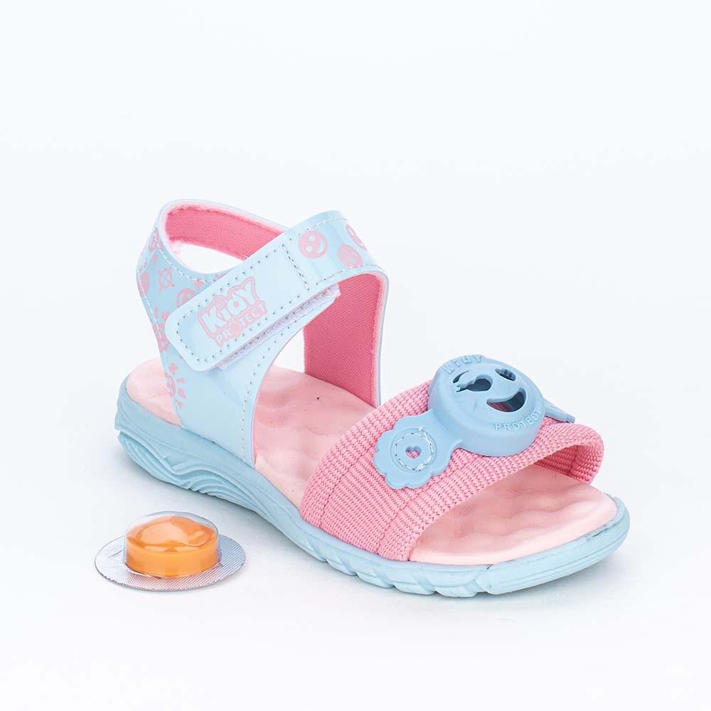Papete Infantil Kidy Protect com Repelente Azul e Rosa