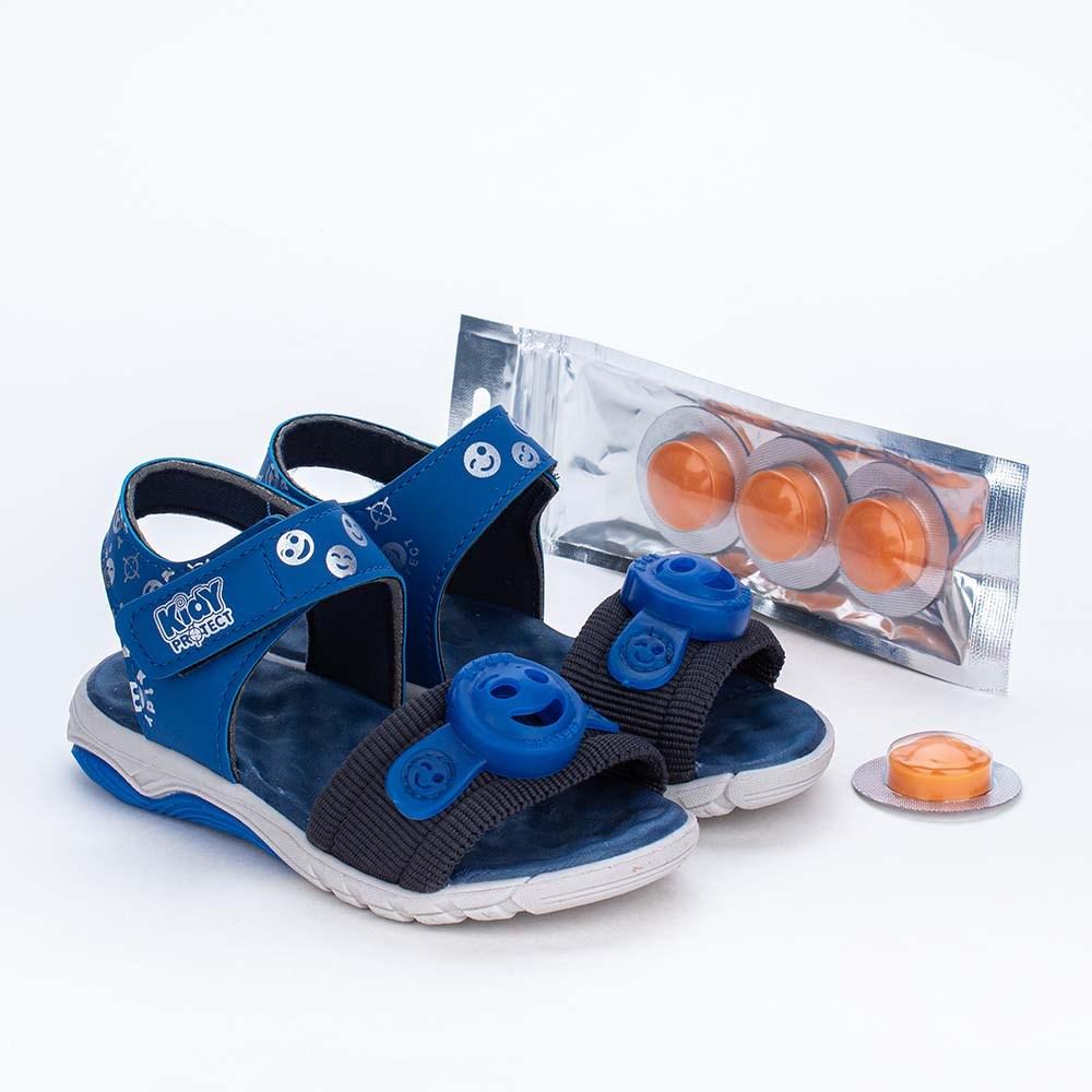 Papete Infantil Kidy Protect com Repelente Azul Royal