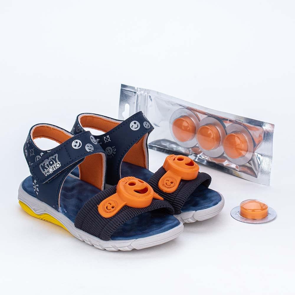 Papete Infantil Kidy Protect com Repelente Marinho e Laranja