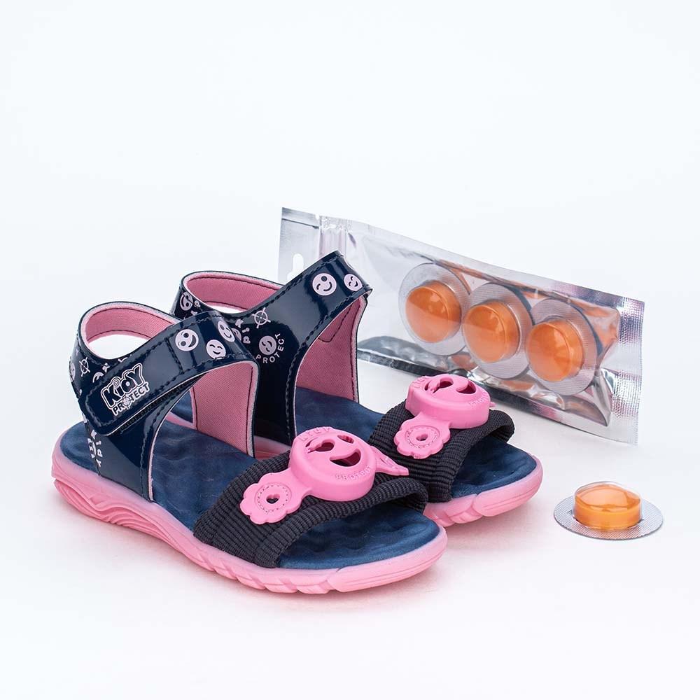 Papete Infantil Kidy Protect com Repelente Marinho e Rosa