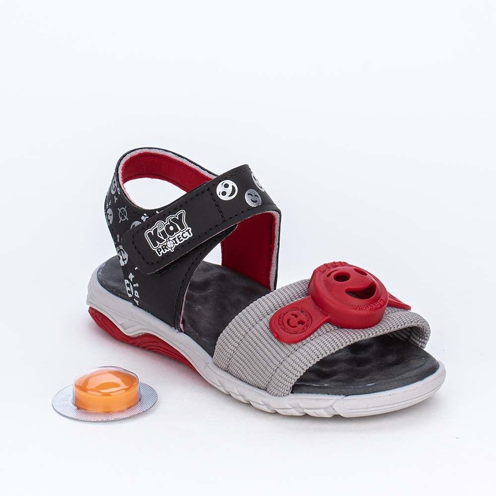 Papete Infantil Kidy Protect com Repelente Preta e Vermelha