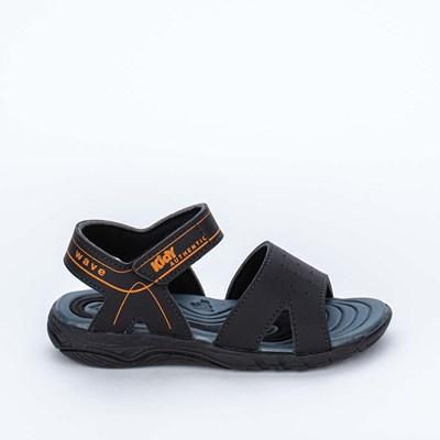 Papete Infantil Wave Preto e Laranja com Ônibus para Brincar