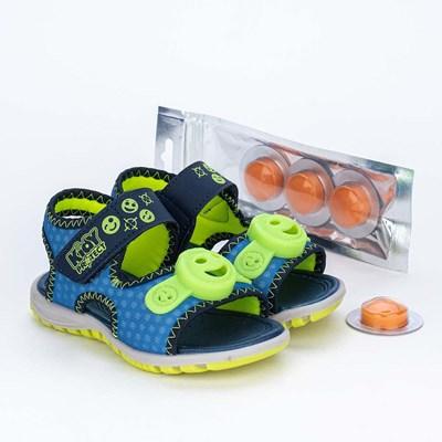 Papete Primeiros Passos Kidy Protect com Repelente Azul