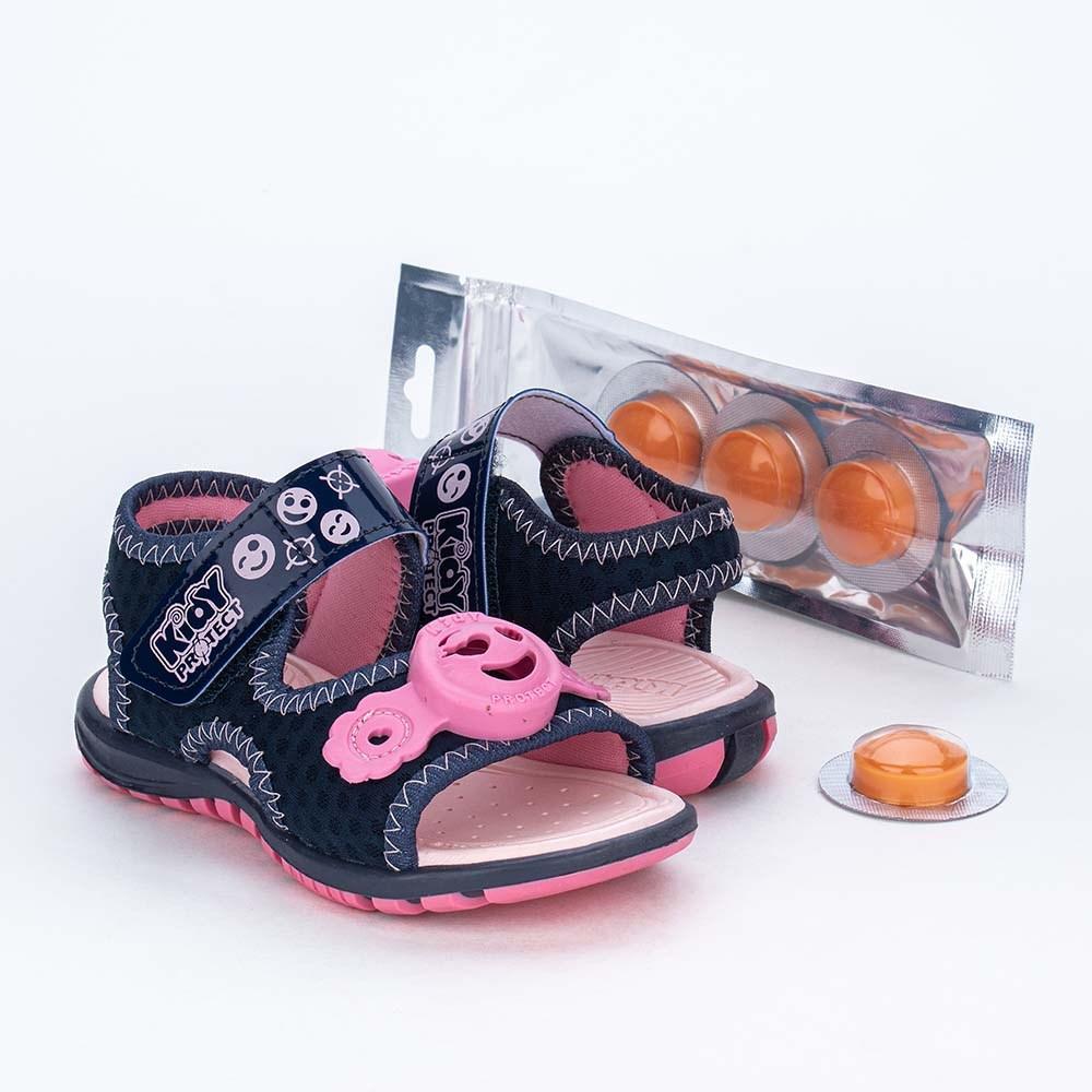Papete Primeiros Passos Kidy Protect com Repelente Marinho