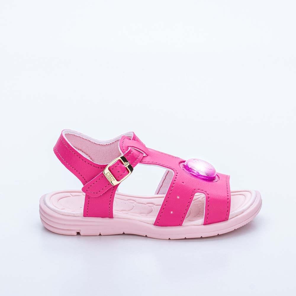 Sandália Infantil Feminina Baby Light Menina Pink
