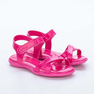 Sandália Infantil Feminina Baby Menina Equilíbrio Pink