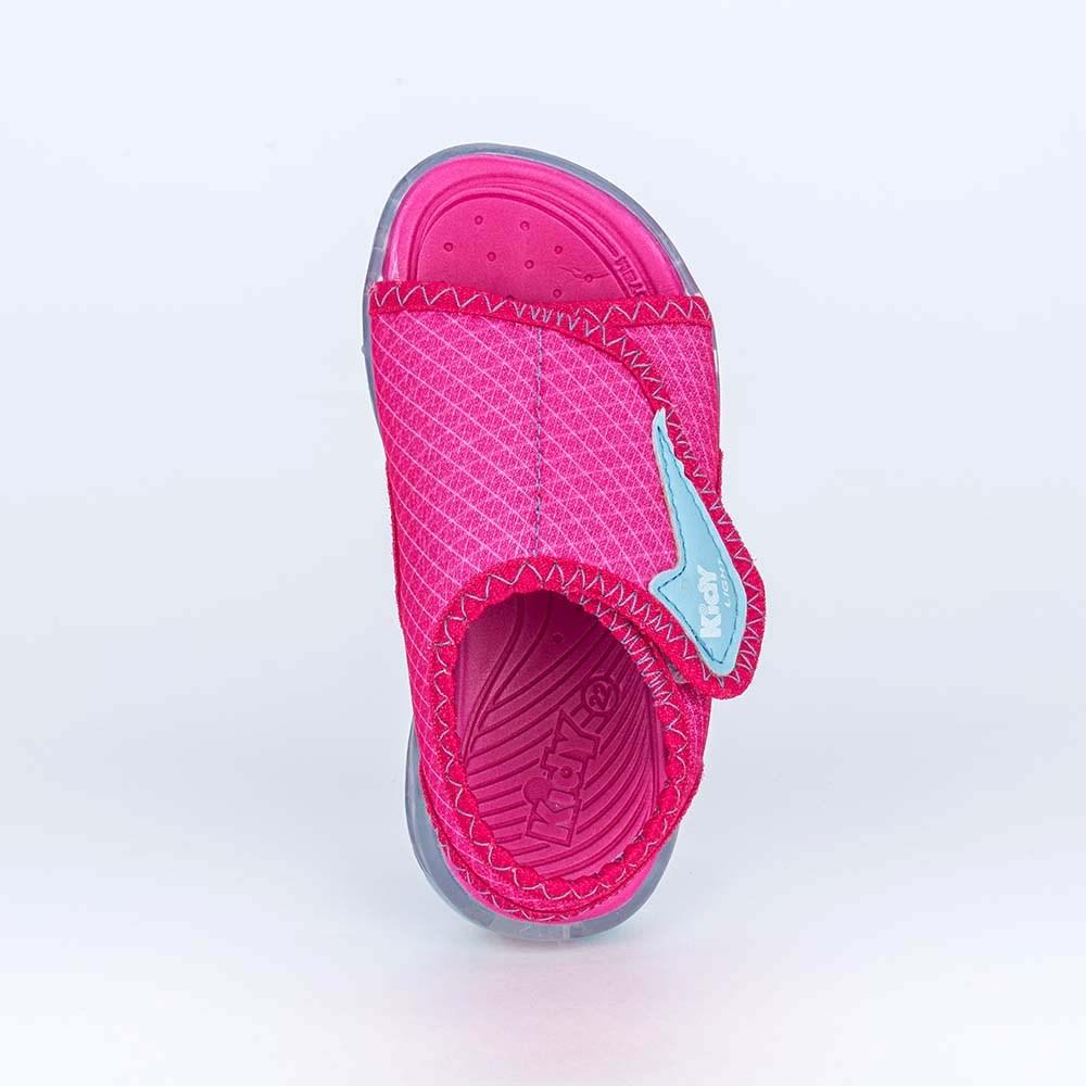 Sandália Infantil Feminina Kidy Light Pink e Azul