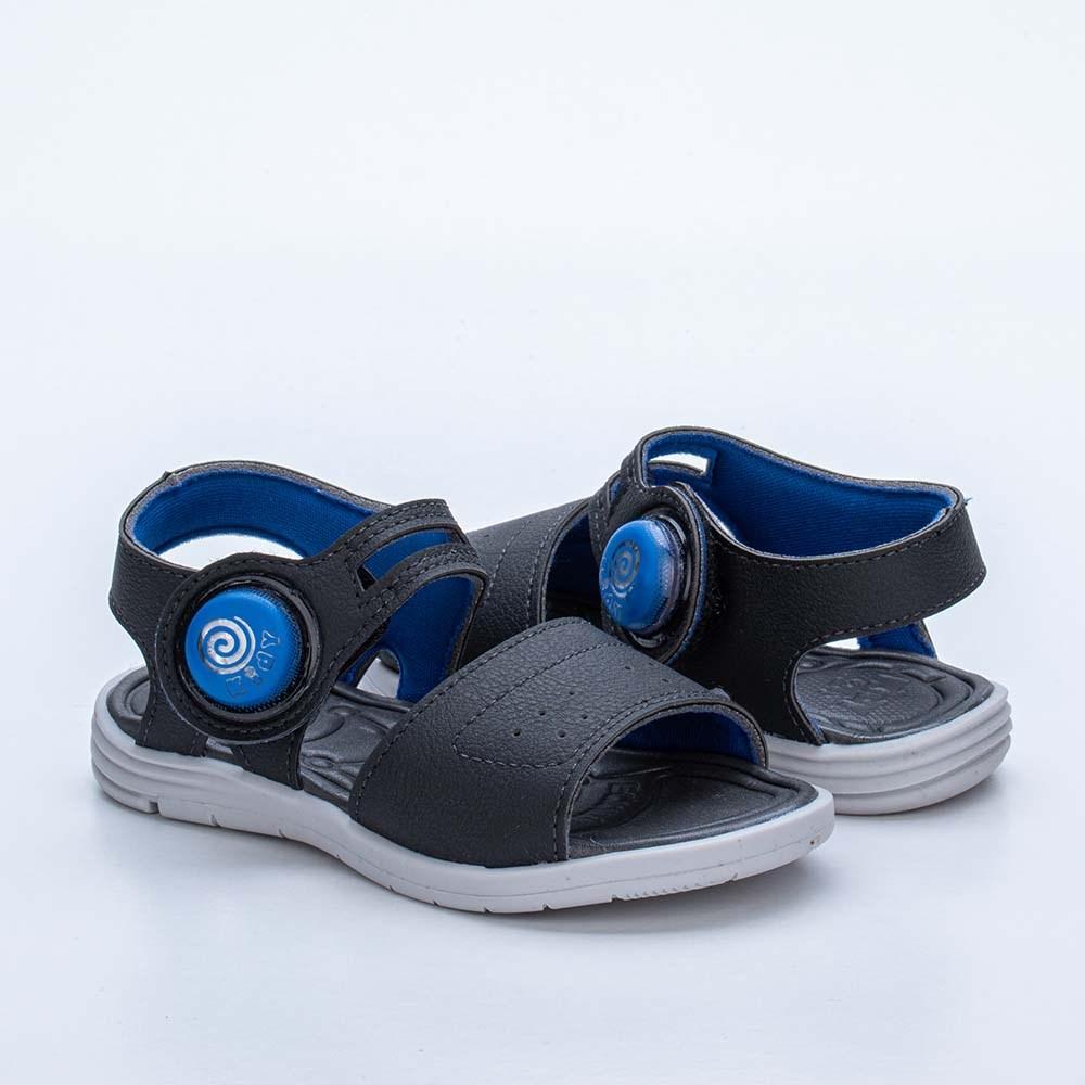 Sandália Infantil Masculina Baby Light Menino Azul Royal