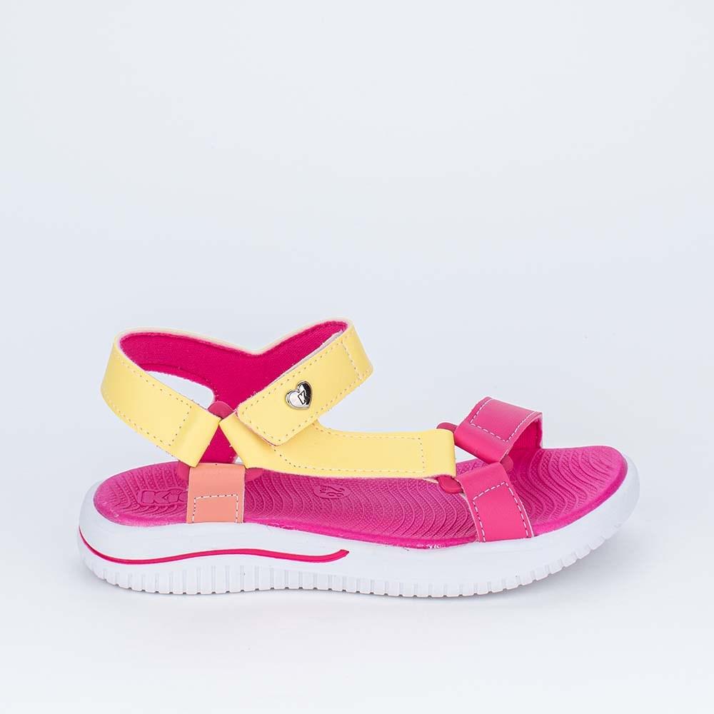 Sandália Papete Infantil Kidy Fly Ultra Leve Colorida