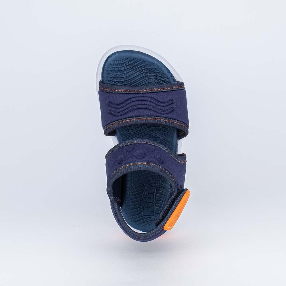 Sandália Ultra Leve para Primeiros Passos Menino Marinho