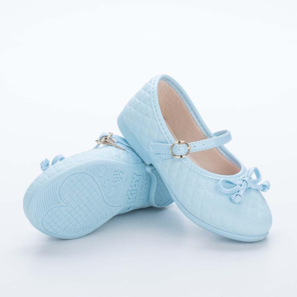 Sapatilha Infantil Feminina Bailarina Kidy Baby Anis