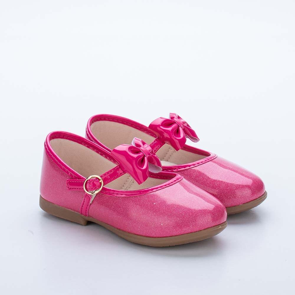 Sapatilha Infantil Feminina Bailarina Kidy Baby Pink