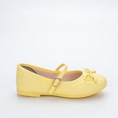 Sapatilha Infantil Feminina Bailarina Kidy Soft Amarelo