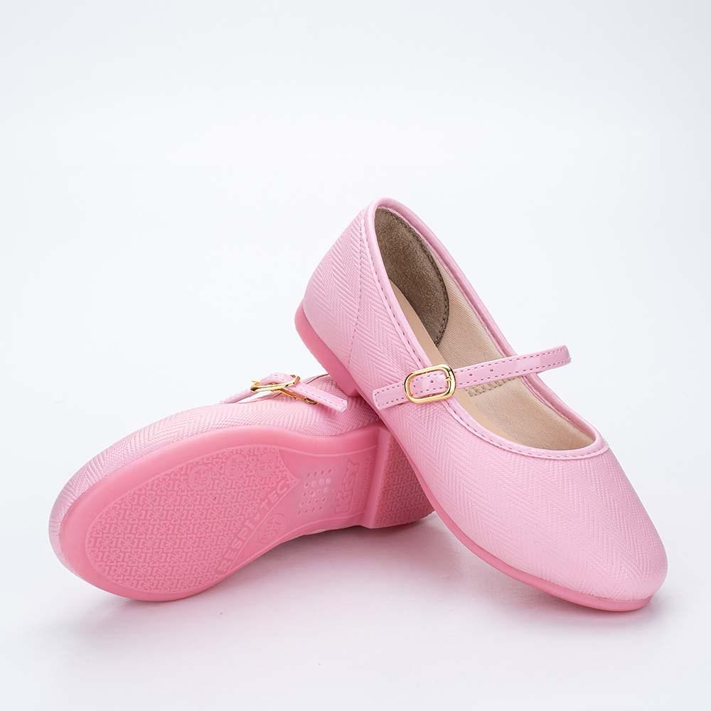 Sapatilha Infantil Feminina Bailarina Kidy Soft Rosa