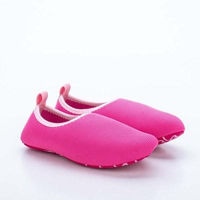 Sapatilha Infantil Feminina Kidy Socks Fun Pink