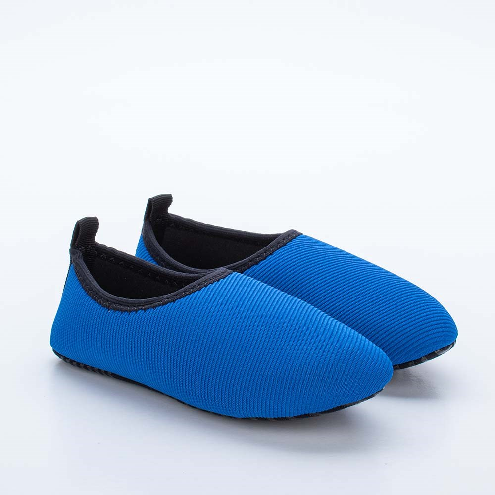 Sapatilha Infantil Masculina Kidy Socks Fun Azul Royal