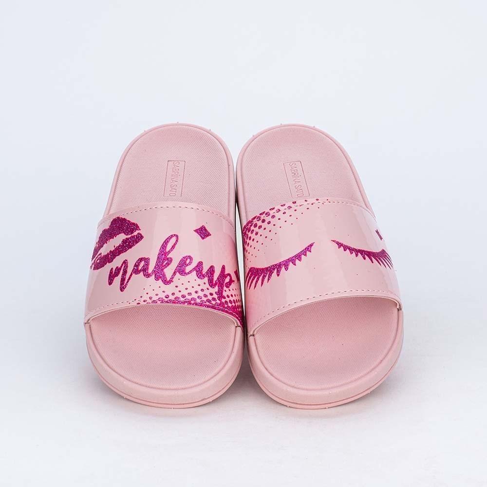 Slide Infantil para Meninas Sabrina Sato Comfy Make Nude