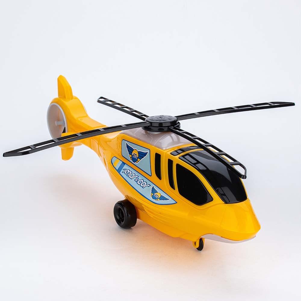 Slide para Menino Mar e Cor Azul e Helicóptero de Brinquedo