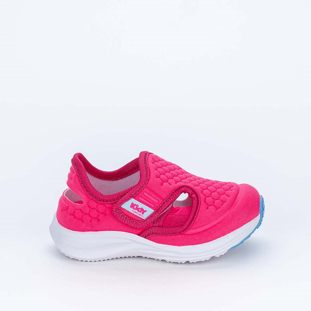 Tênis Esportivo Primeiros Passos Energy Calce Fácil Pink