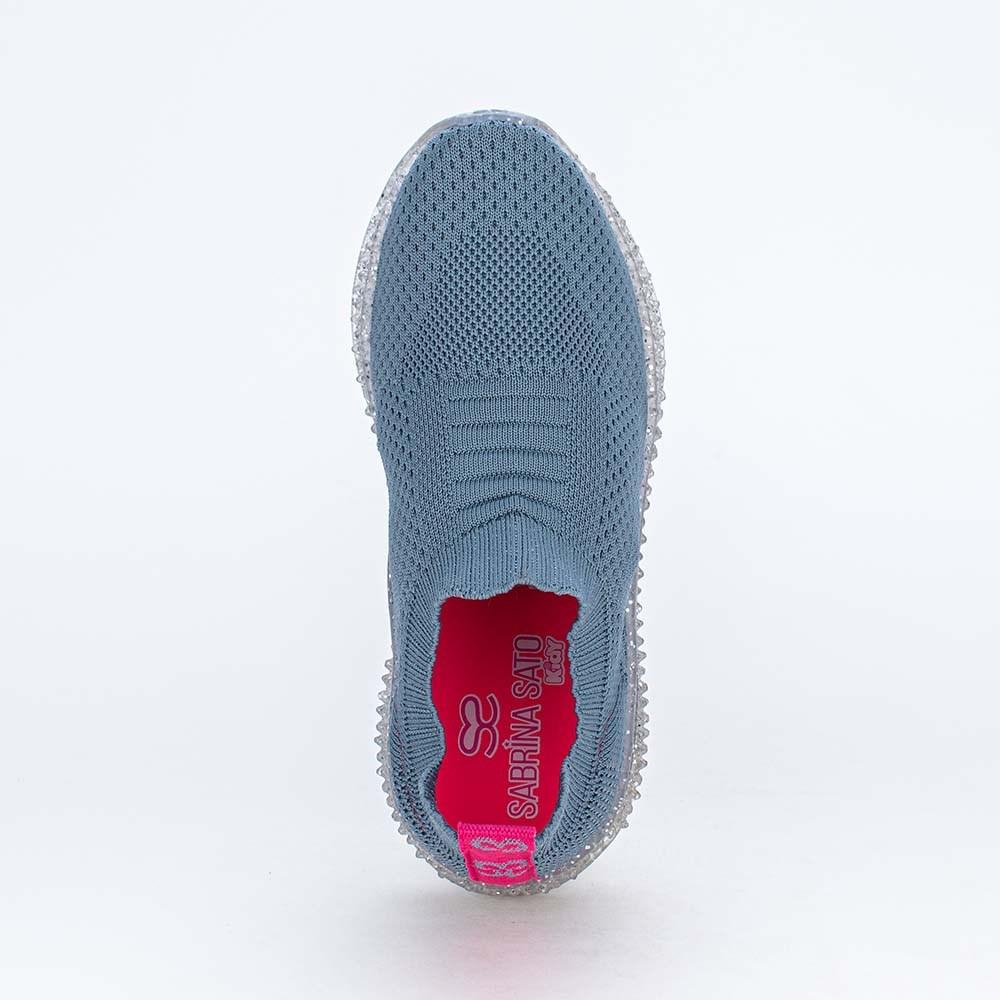 Tênis Illusion Tec Sabrina Sato Calce Fácil Azul Jeans