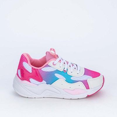 Tênis Infantil Esportivo Feminino Kidy Space Pink e Lilás