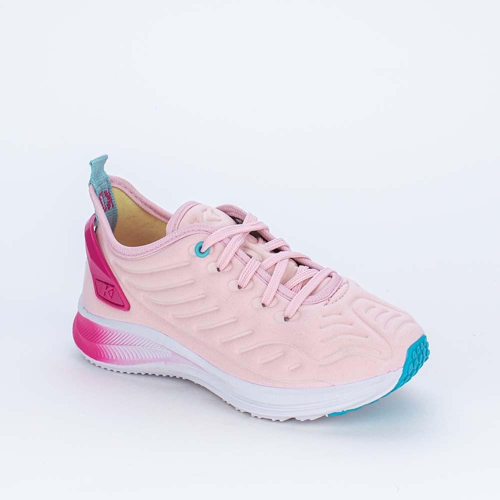 Tênis Infantil Feminino Esportivo Energy Mesh Rosa e Pink