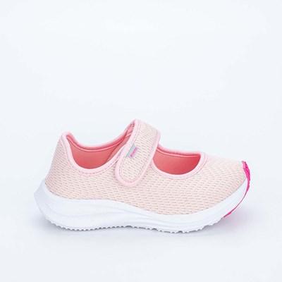 Tênis Infantil Feminino Kidy Energy Respitec Nude e Pink