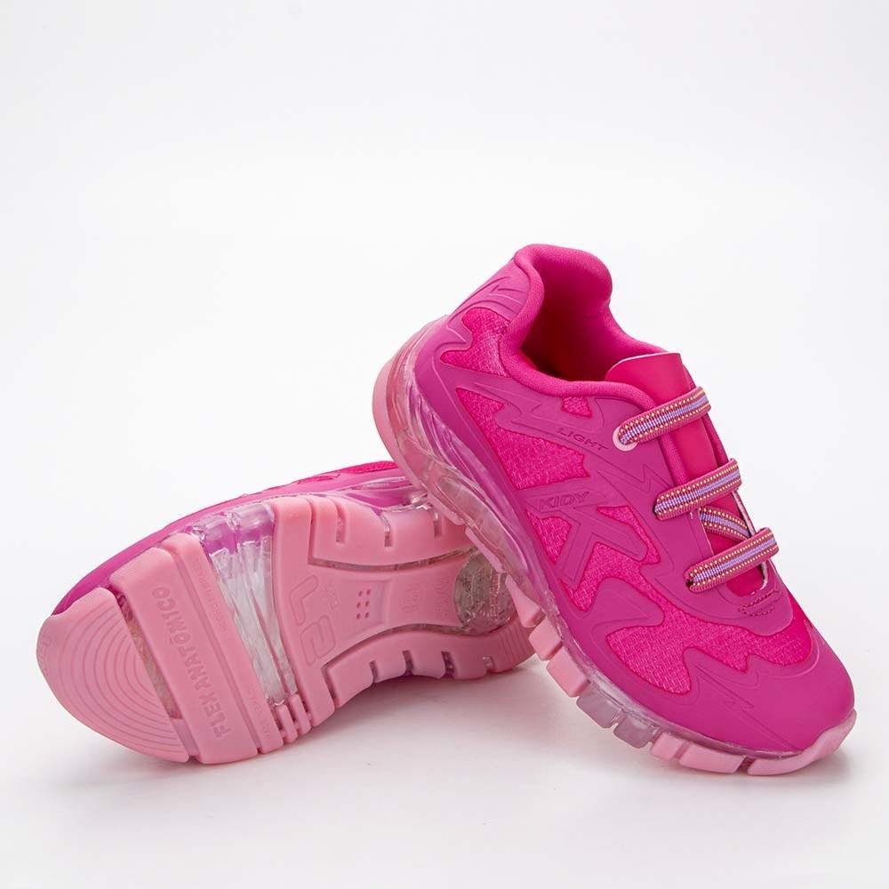 Tênis Infantil Feminino Kidy Flex Light Pink