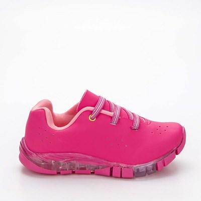 Tênis Infantil Feminino Kidy Flex Light Pink e Rosa