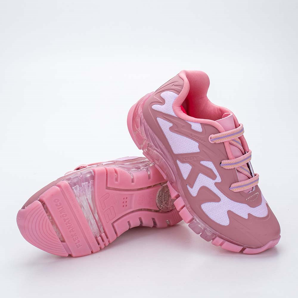 Tênis Infantil Feminino Kidy Flex Light Rosa