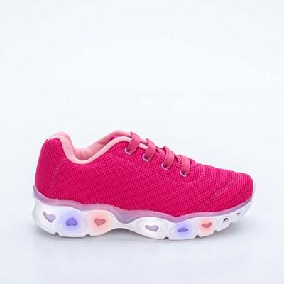 Tênis Infantil Feminino Kidy Light Girl Respi-Tec Pink