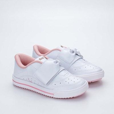 Tênis Infantil Feminino Kidy Love Baby Branco
