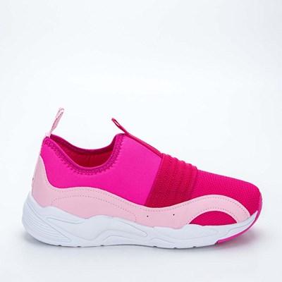 Tênis Infantil Feminino Kidy Space Pink e Rosa