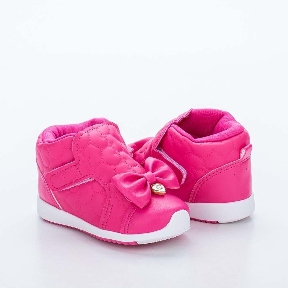 Tênis Infantil Kidy Colors Menina Pink