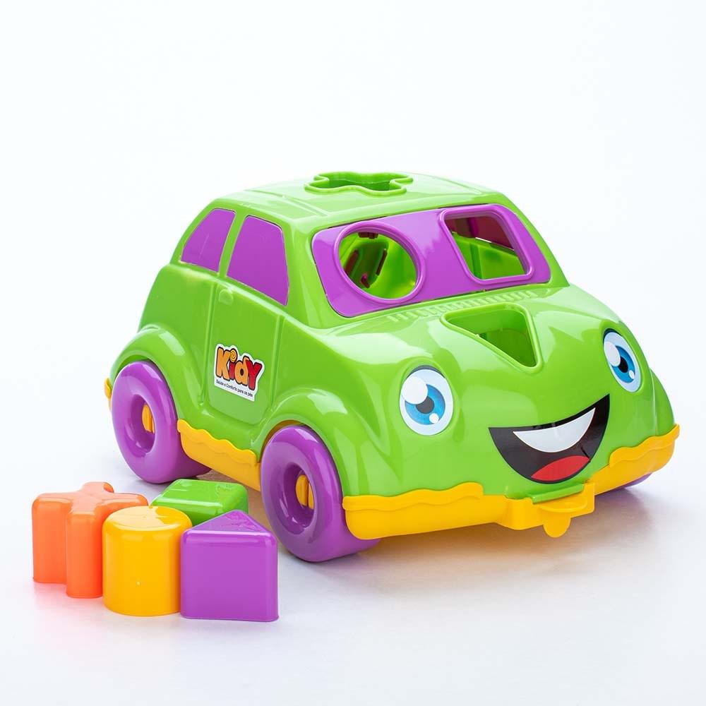Tênis para Bebê Kidy Colors Marinho com Brinquedo Interativo