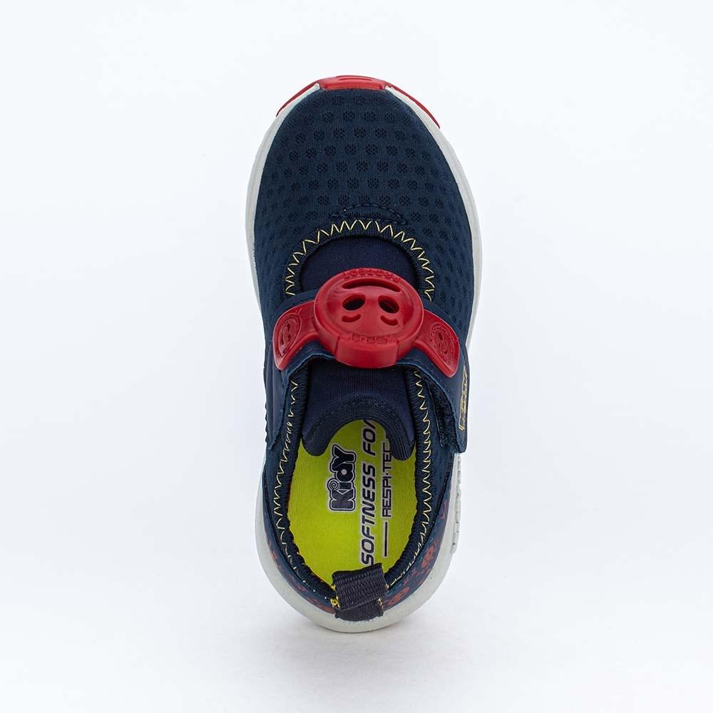 Tênis Primeiros Passos Kidy Protect com Repelente Marinho